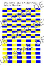 Blue & Yellow Battenberg Markings